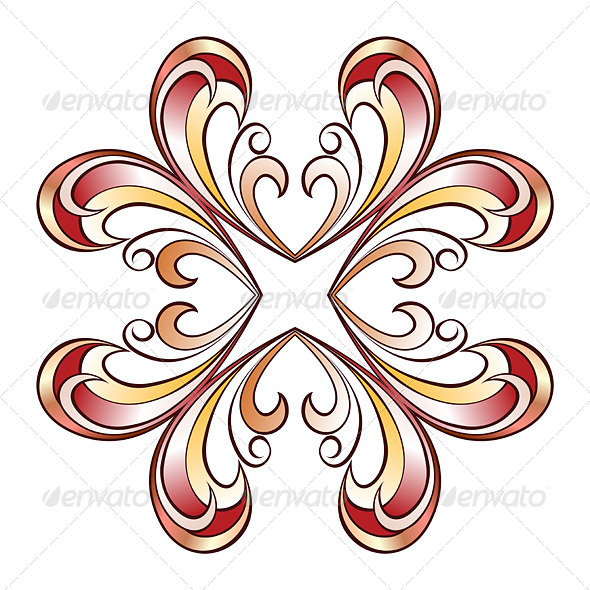 GraphicRiver Ornate Floral Pattern 8075226