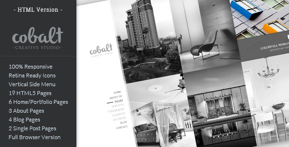 Cobalt - Responsive Architect & Creatives Theme