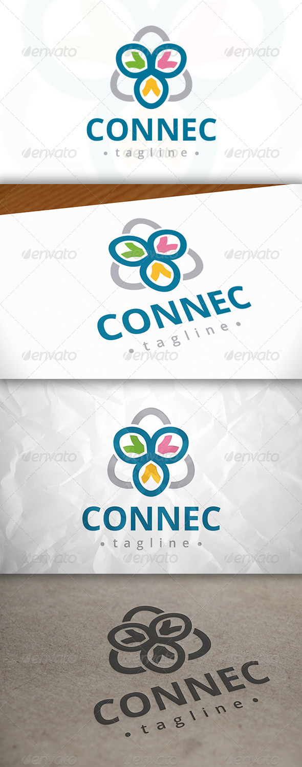 GraphicRiver Connect Logo 8076090