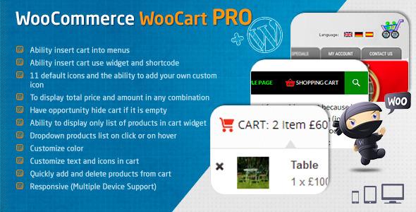 CodeCanyon WooCommerce WooCart Pro 7992078