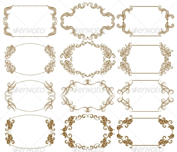 GraphicRiver Decorative Frames 8076880