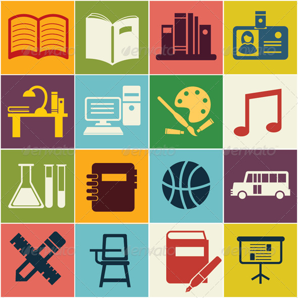 GraphicRiver Education Symbol 8059474