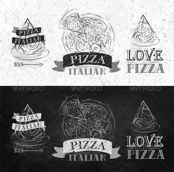 GraphicRiver Pizza Symbol 8069945