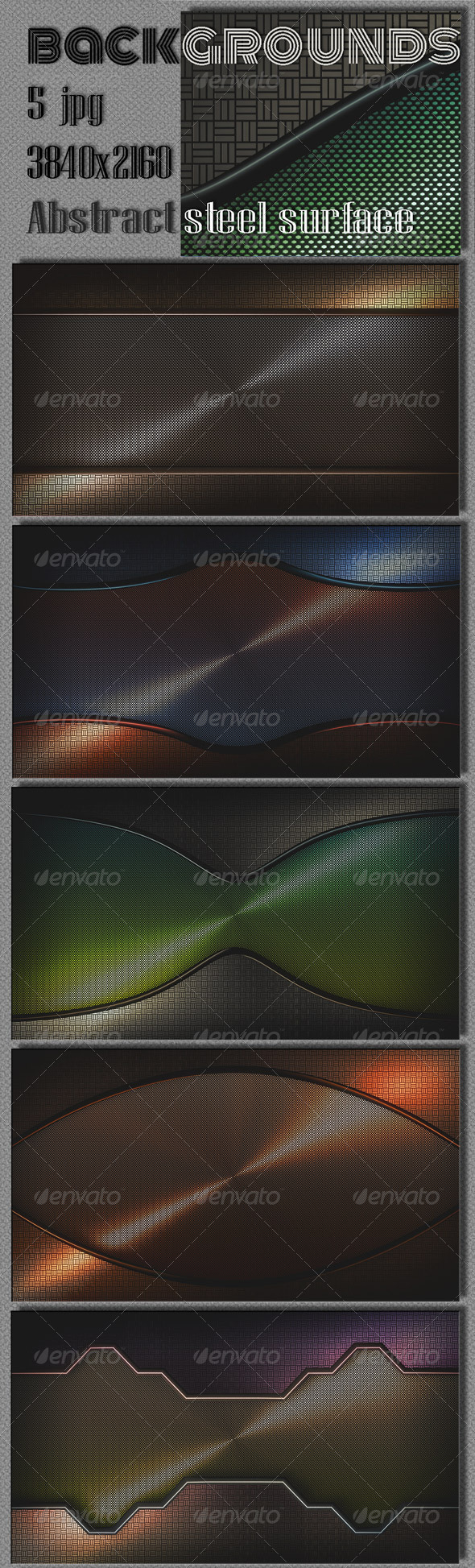 GraphicRiver Steel Web Interface 8077235