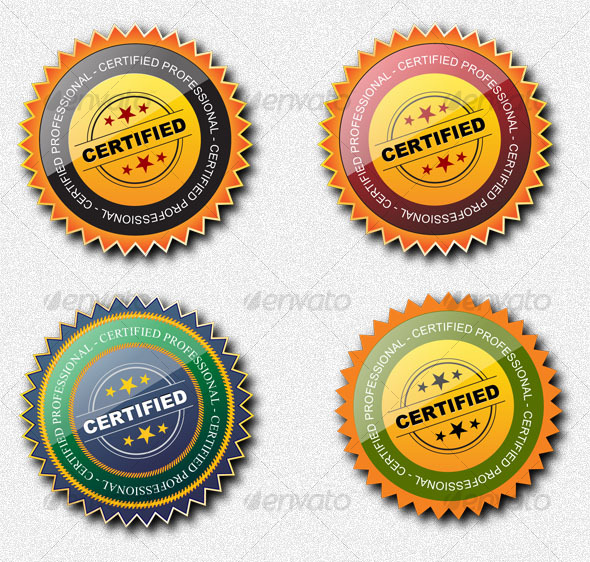 GraphicRiver Certified Professional Seal 34356