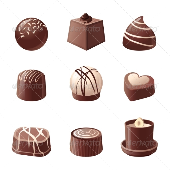 GraphicRiver Chocolate Candies 8077761