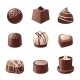 Chocolate Candies - GraphicRiver Item for Sale
