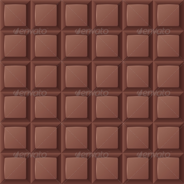 GraphicRiver Seamless Chocolate Bar 8077765