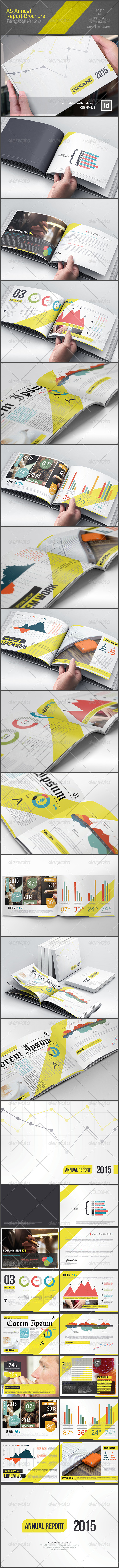 GraphicRiver A5 Annual Report Brochure Ver 2.0 8078027