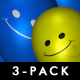 Smiley Balloons (3-Pack)