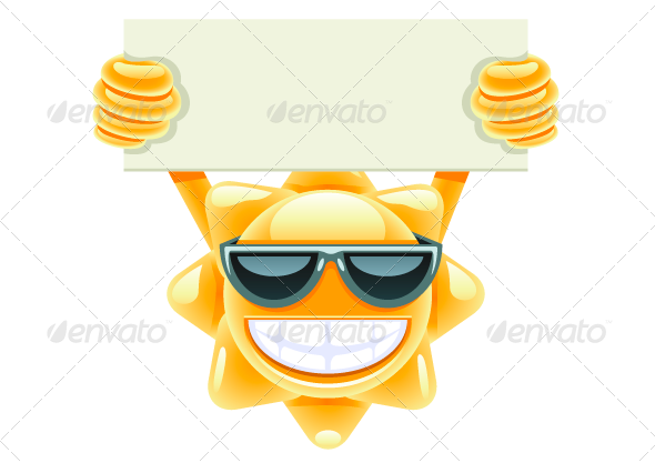 GraphicRiver Sun with Message 8078352