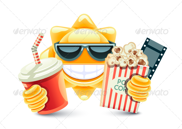GraphicRiver Sun 3D Cinema 8078384