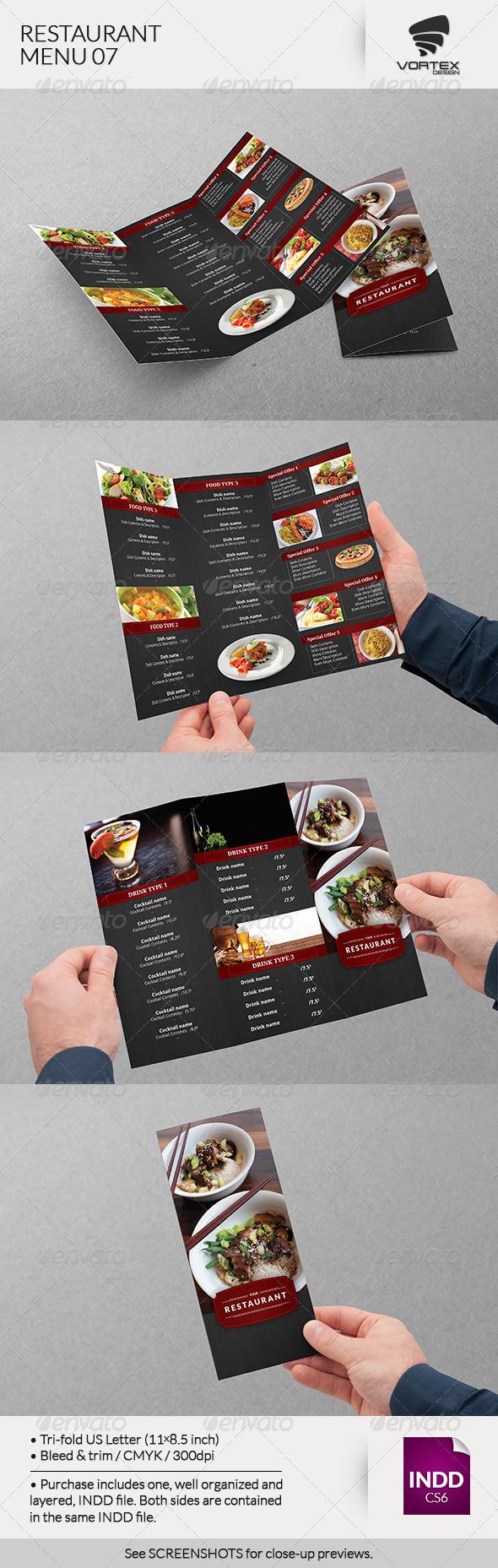 GraphicRiver Restaurant Menu 07 8069400