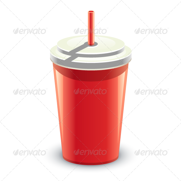 GraphicRiver Red Can of Drink 8078435