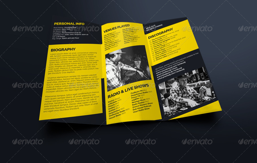 ToolsDj  Promotional Print Templates For DjS And Producers  Page