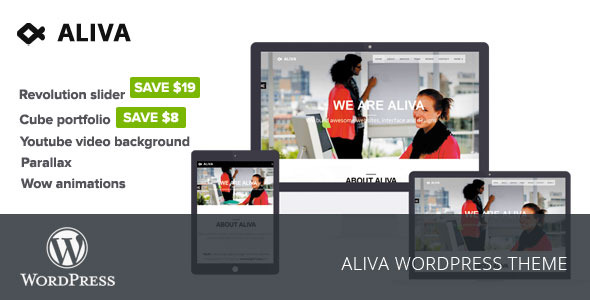 Aliva Creative WordPress Theme