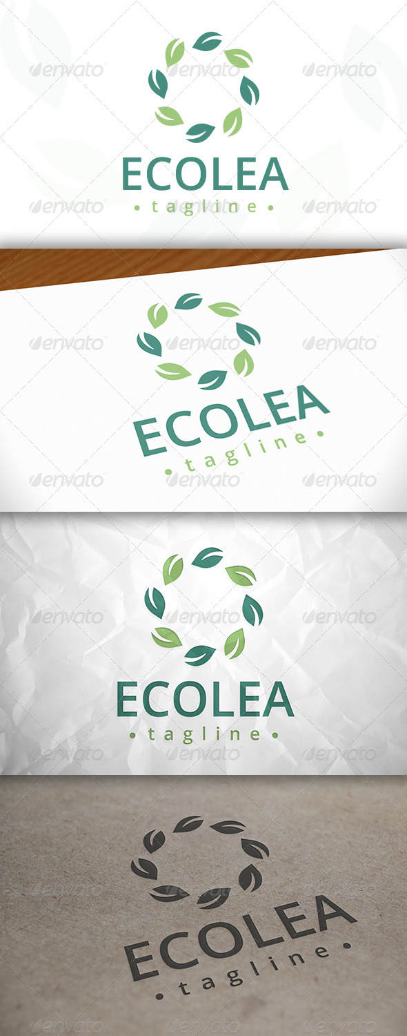 GraphicRiver Eco Leaf Logo 8078718