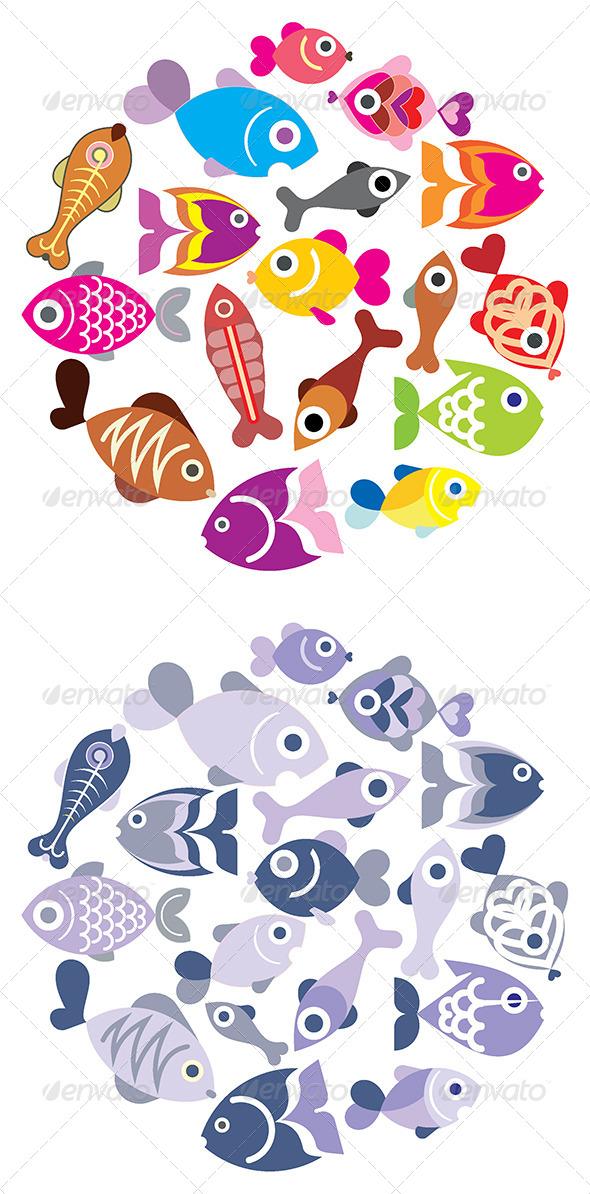 GraphicRiver Fishes 8078827