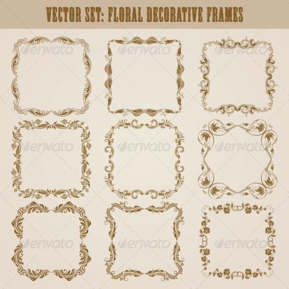 GraphicRiver Decorative Frames 8079185