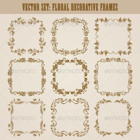 GraphicRiver Decorative Frames 8079189
