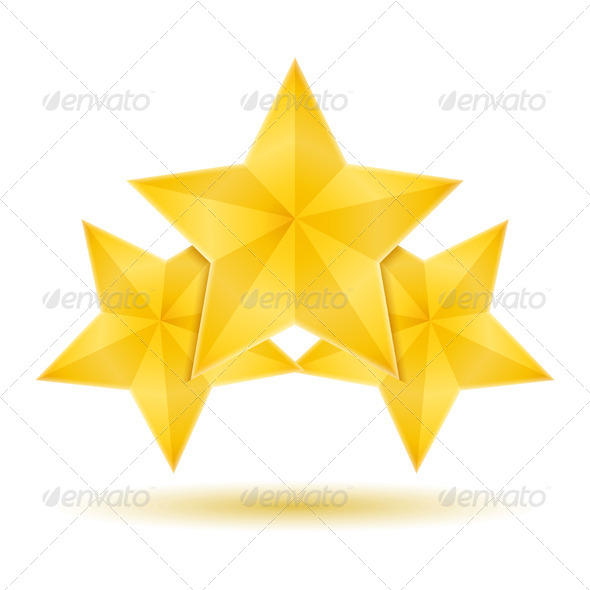 GraphicRiver Three Stars 8079203