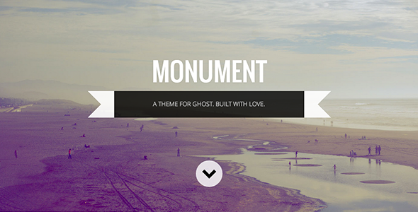 ThemeForest Monument Responsive Multipurpose Ghost Theme 7921980
