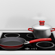 Pot and frying pan at the induction stove - PhotoDune Item for Sale
