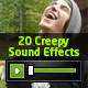 20 Creepy and Haunting Sound Effects - AudioJungle Item for Sale