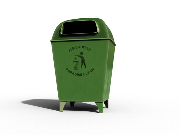 3DOcean Trash Can 8079691
