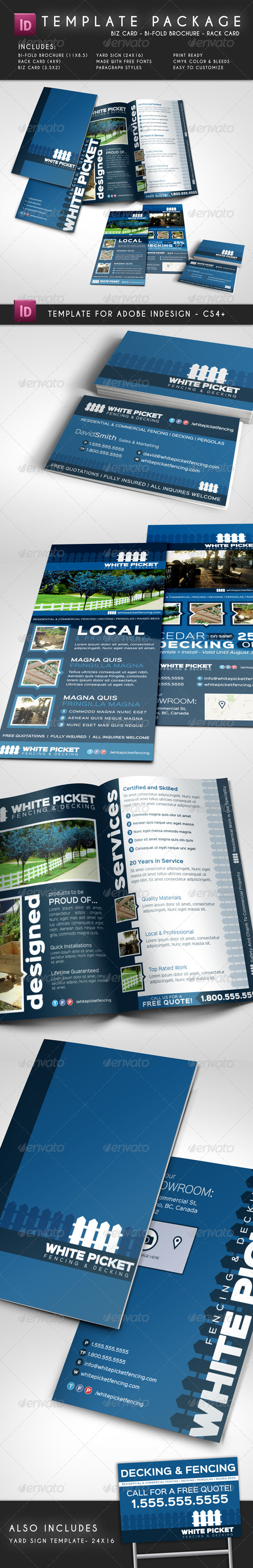 GraphicRiver Template Package Brochure Rack Card Biz Card 8042422