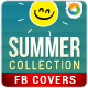 Summer Fashion Facebook Cover Image - GraphicRiver Item for Sale
