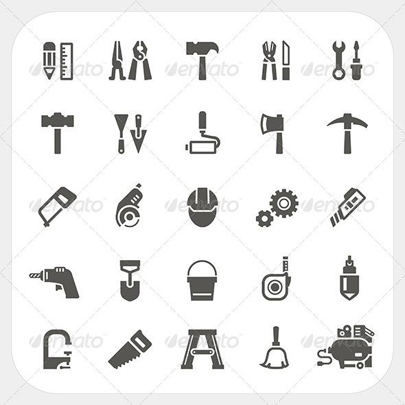 Tool Icons Set
