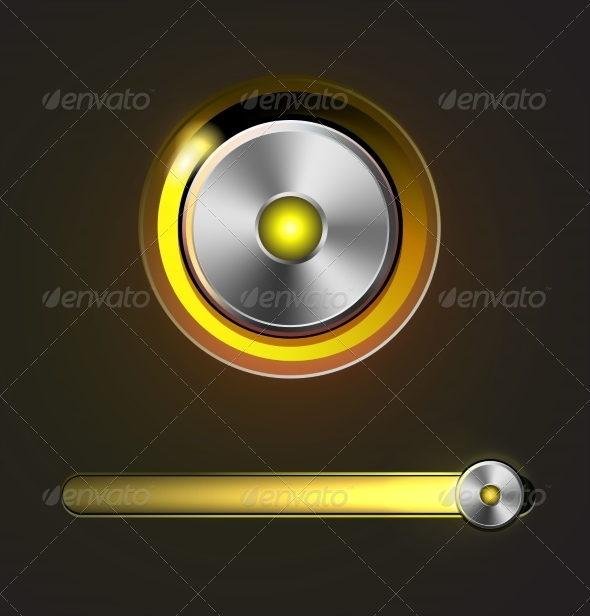 GraphicRiver Glossy Media Player Button and Track Bar 8080800