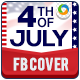 Fourth of July Facebook Cover Page - GraphicRiver Item for Sale