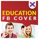 Education & College Facebook Cover page - GraphicRiver Item for Sale