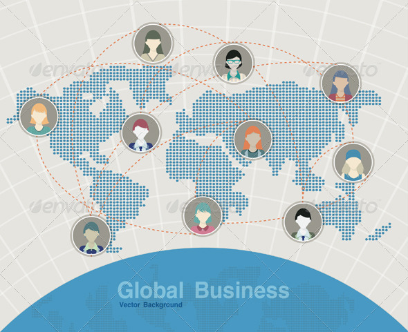 GraphicRiver Global Business 8081834