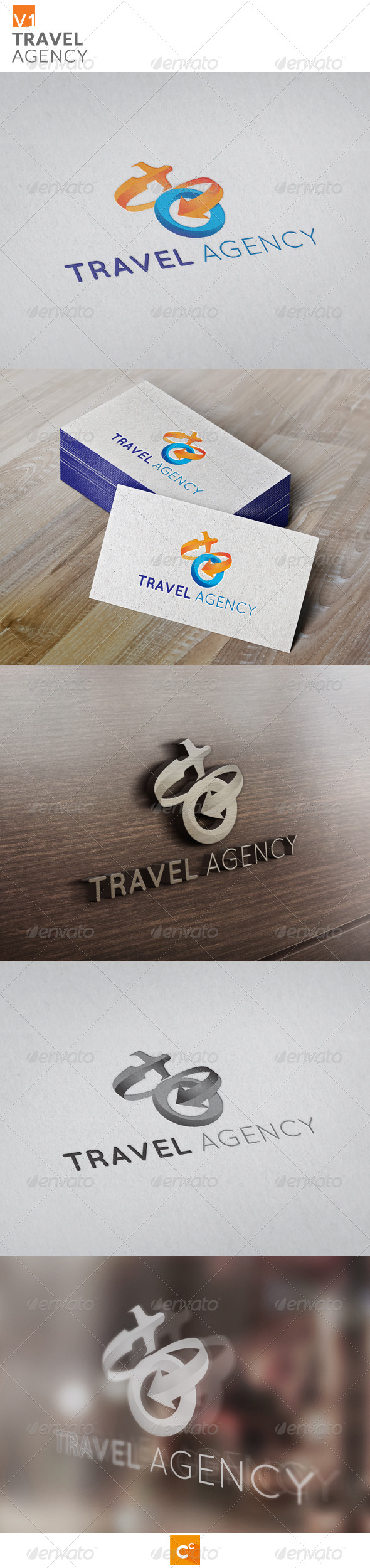 GraphicRiver Travel Agency 8082054