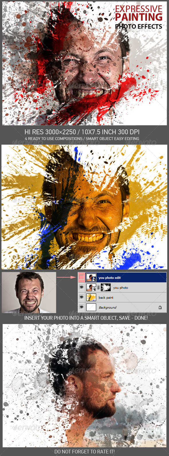 GraphicRiver Expressive Painting Photo Effects 8082426