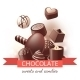 Chocolate Sweets and Candies - GraphicRiver Item for Sale