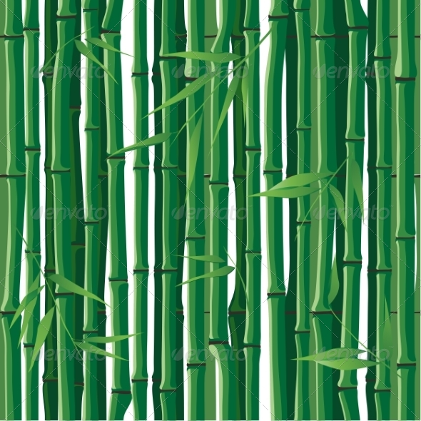 GraphicRiver Seamless Bamboo 8082478