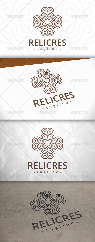 GraphicRiver Relic Crest Logo 8082707