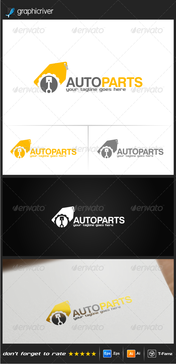 GraphicRiver Auto Parts Logo Templates 8082813