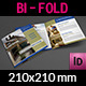 Real Estate Bi-Fold Square Brochure Template Vol.3 - GraphicRiver Item for Sale