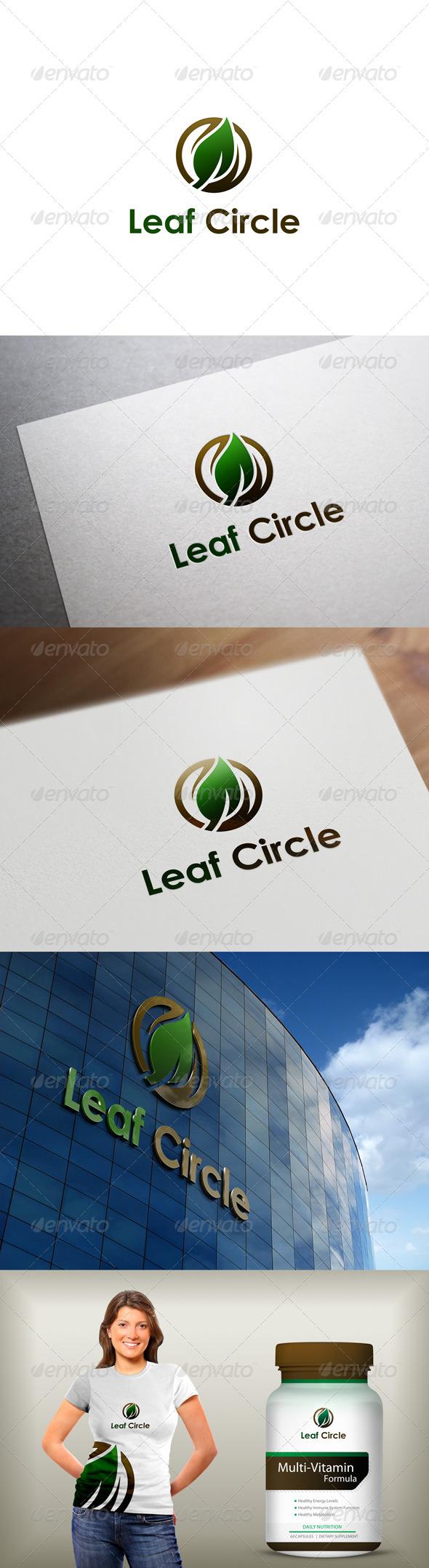 GraphicRiver Leaf Logo 8083053