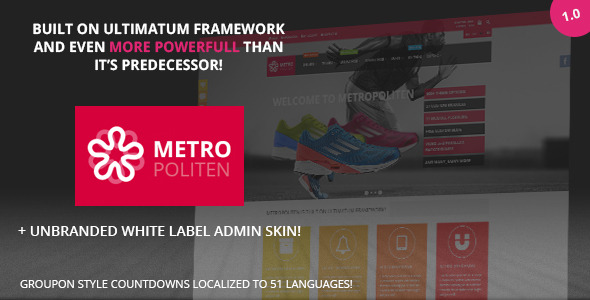 Metropoliten - Responsive OpenCart theme with blog