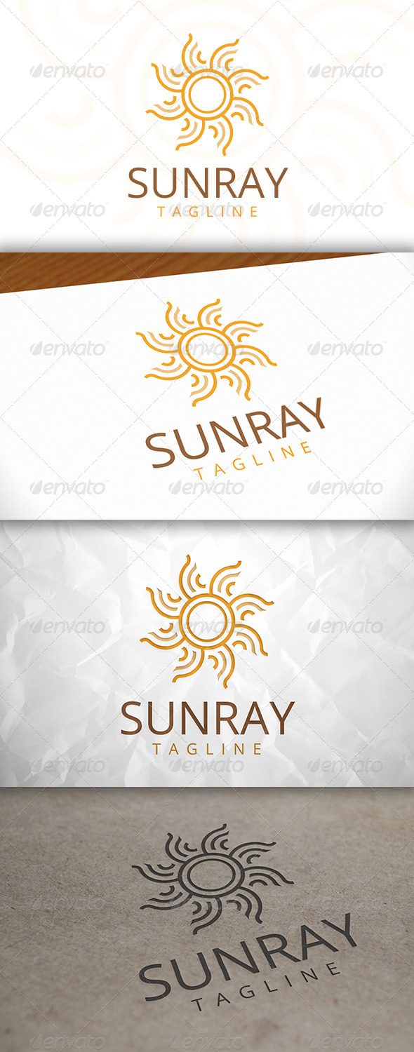 GraphicRiver Sun Ray Logo Template 8083087