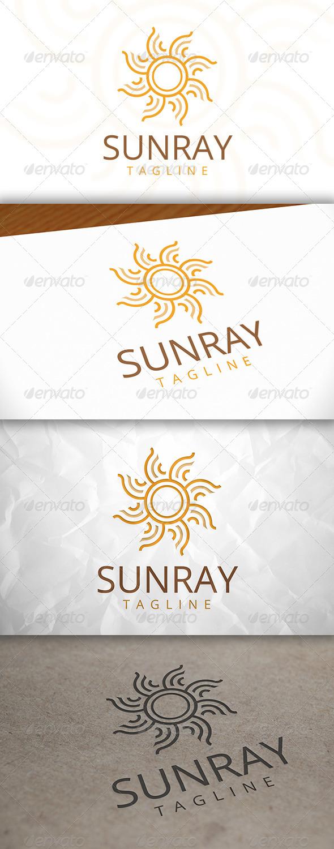 GraphicRiver Sun Ray Logo Template 8083087