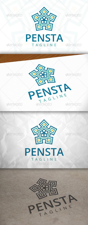 GraphicRiver Penta Star Logo 8083193