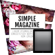 Tablet Simple Magazine - GraphicRiver Item for Sale