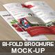 Bi-Fold Brochure Mock-Up - GraphicRiver Item for Sale